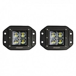 3 LED Recessed Cube Ligh