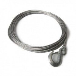 Winch Cable with Hook