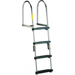 Transom Pontoon Ladder