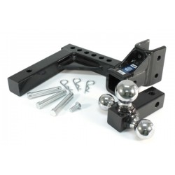 Adjustable Tri-Ball Mount