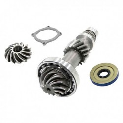 Pinion shaft and snorket