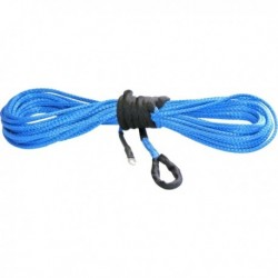 Blue Synthetic ATV Winch